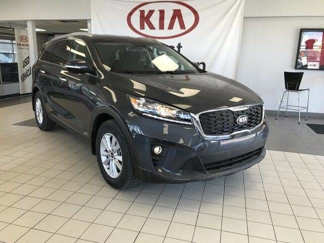 2019 Kia Sorento LX Premium AWD V6 7 SEATER *HEATED CLOTH FRONT SEATS WITH POWER DRIVER SEAT/UVO INTELLIGENCE TELEMATICS SYSTEM/7 DISPLAY AUDIO SYSTEM* Edmonton AB