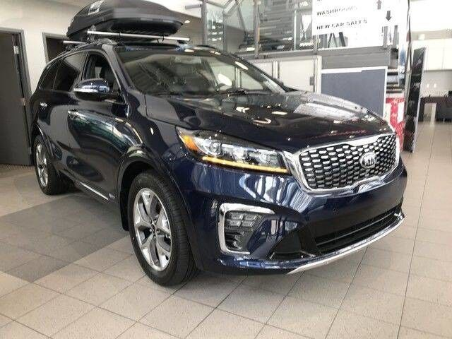 2019 Kia Sorento SX AWD V6 7 Seater *AIR COOLED/HEATED FRONT LEATHER SEATS/8 NAVIGATION/REARVIEW CAMERA* Edmonton AB