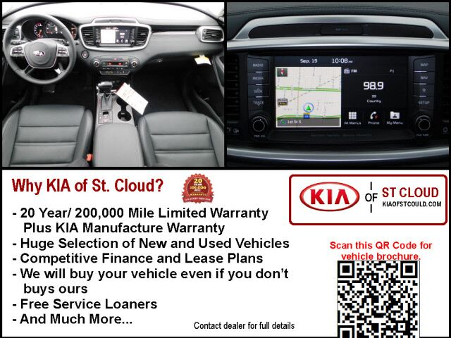 2019 Kia Sorento SX Limited V6 St. Cloud MN