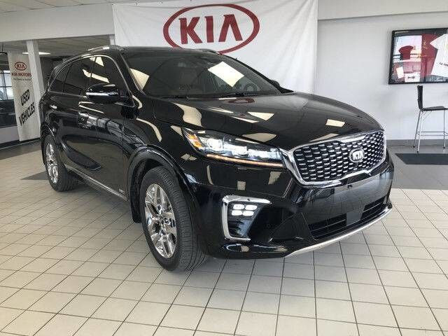 2019 Kia Sorento SXL AWD V6 7 SEATER *FRONT COLLISION WARNING SYSTEM/NAPPA LEATHER HEATED & COOLED SEATS/360 CAMERA MONITORING SYSTEM* Edmonton AB