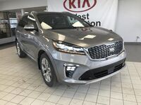 Kia Sorento SXL AWD V6 7 SEATER *FRONT COLLISION WARNING SYSTEM/NAPPA LEATHER HEATED & COOLED SEATS/360 CAMERA MONITORING SYSTEM* 2019