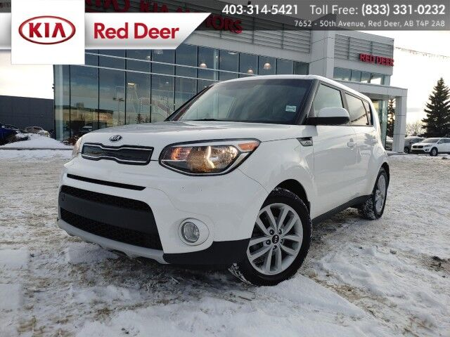 2019 Kia Soul EX, Bluetooth, Heated Front Seats & Steering Wheel, Back-up Camera Red Deer AB