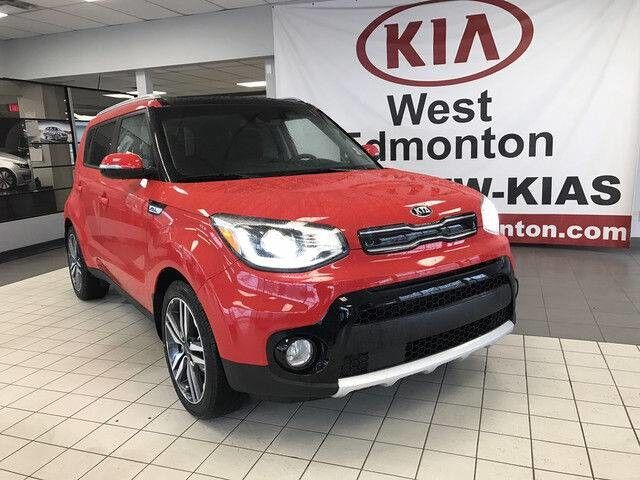 2019 Kia Soul EX Tech FWD 2.0L *INTEGRATED NAVIGATION SYSTEM/HARMAN KARDON PREMIUM AUDIO/HEATED & COOLED LEATHER FRONT SEATS* Edmonton AB