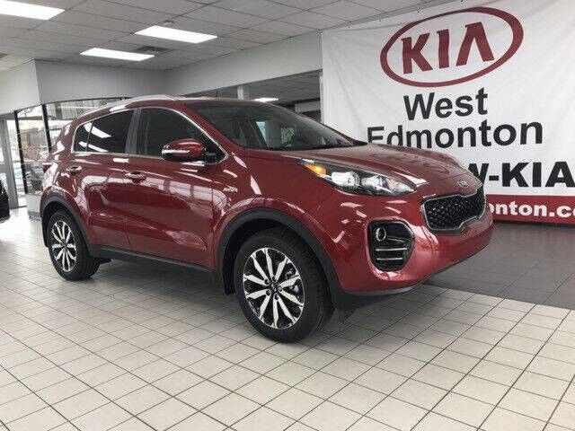 2019 Kia Sportage EX AWD 2.4L *HEATED LEATHER SEATS & STEERING WHEEL/PUSH BUTTON START/ANDROID AUTO APPLE CAR PLAY* Edmonton AB