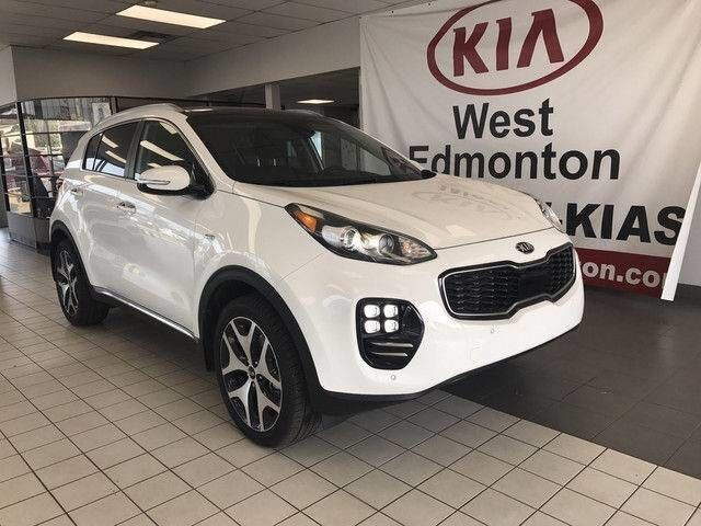 2019 Kia Sportage SX AWD 2.0L TURBO *LARGER FRONT BRAKES/DUAL EXHAUST/STEERING WHEEL PADDLE SHIFTERS/SPORT STEERING WHEEL* Edmonton AB