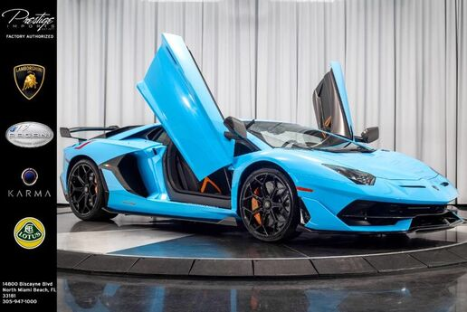 2019 Lamborghini Aventador SVJ North Miami Beach FL