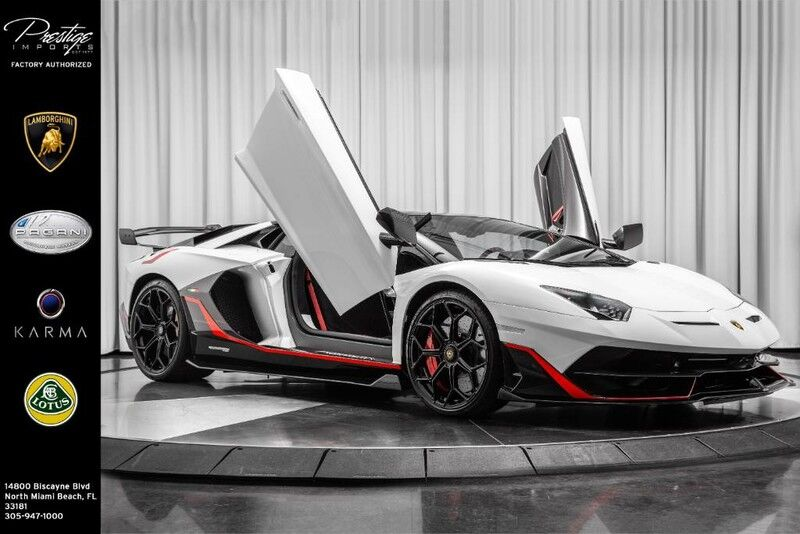 2019_Lamborghini_Aventador_SVJ_ North Miami Beach FL