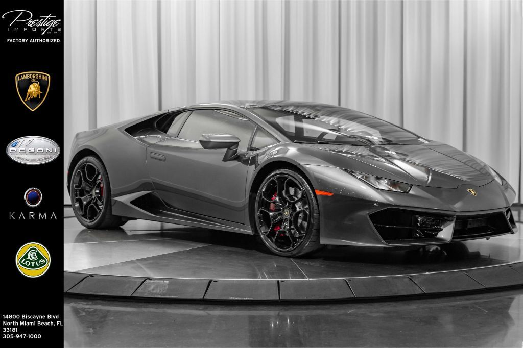 2019_Lamborghini_Huracan__ North Miami Beach FL