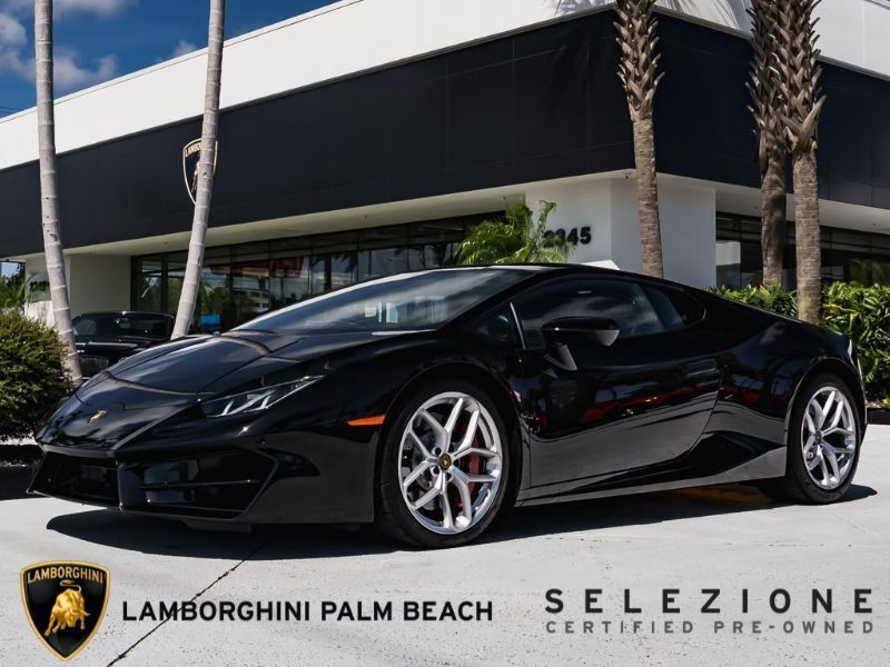 2019 Lamborghini Huracan LP580-2 West Palm Beach FL
