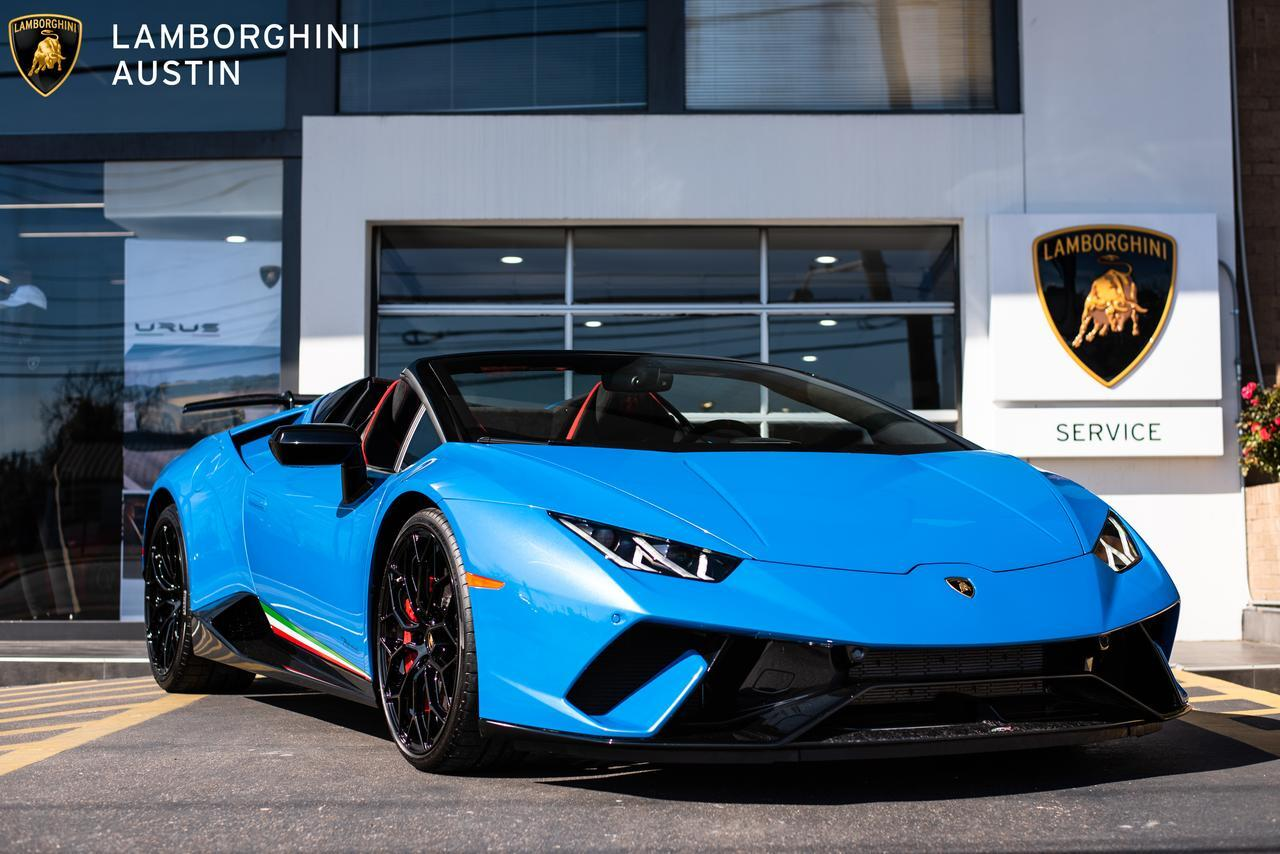New 2019 Lamborghini Huracan Performante Lp640 4 Spyder In Austin Tx
