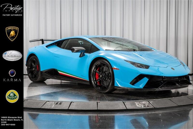 2019 Lamborghini Huracan Performante North Miami Beach FL