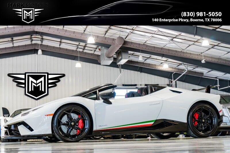 2019_Lamborghini_Huracan_Performante Spyder_ Boerne TX