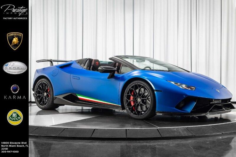 2019_Lamborghini_Huracan_Performante Spyder_ North Miami Beach FL