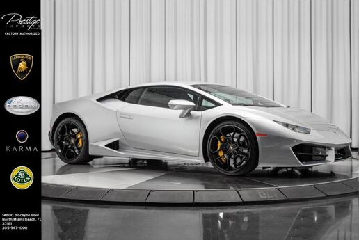 2019 Lamborghini Huracan RWD Coupe  North Miami Beach FL