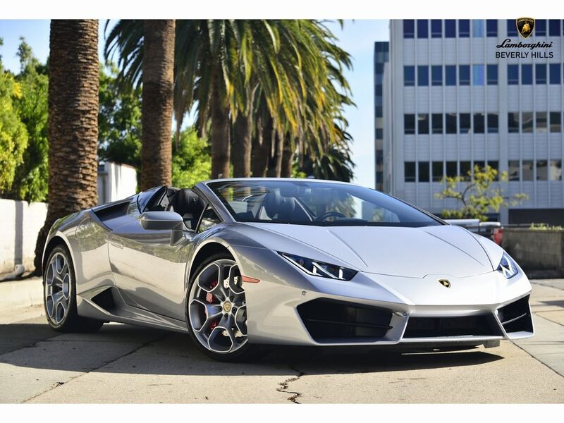 2019_Lamborghini_Huracan RWD Spyder__ Beverly Hills CA