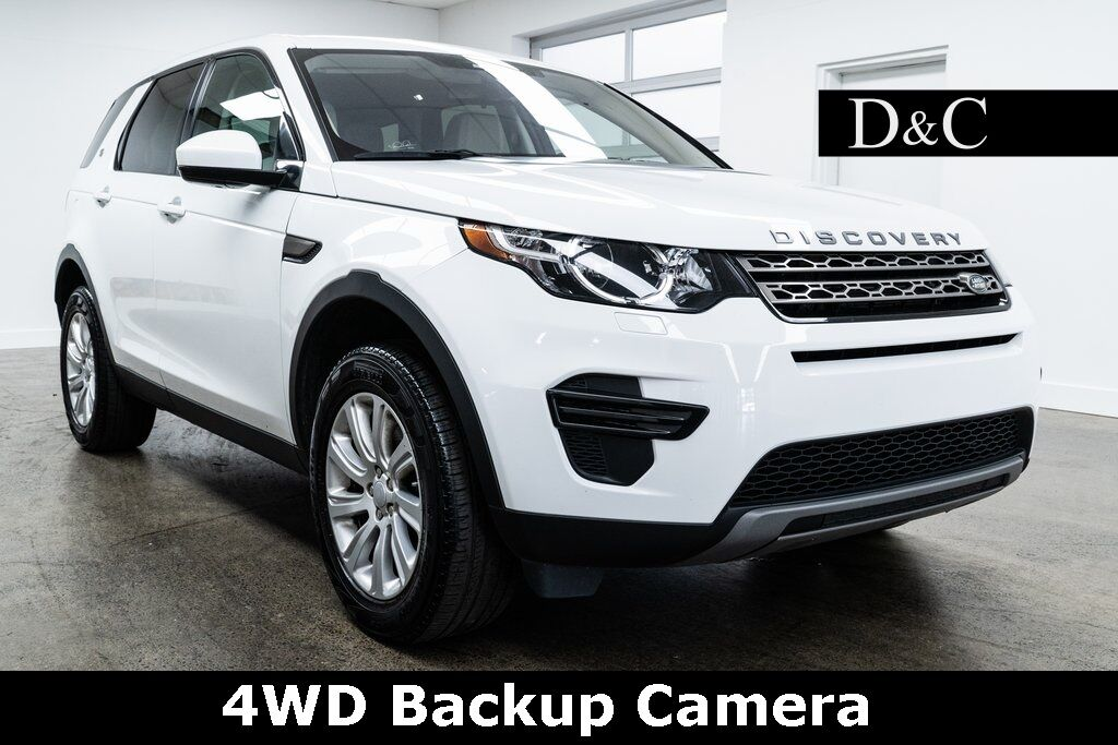 2019 Land Rover Discovery Sport SE 4WD Backup Camera Portland OR
