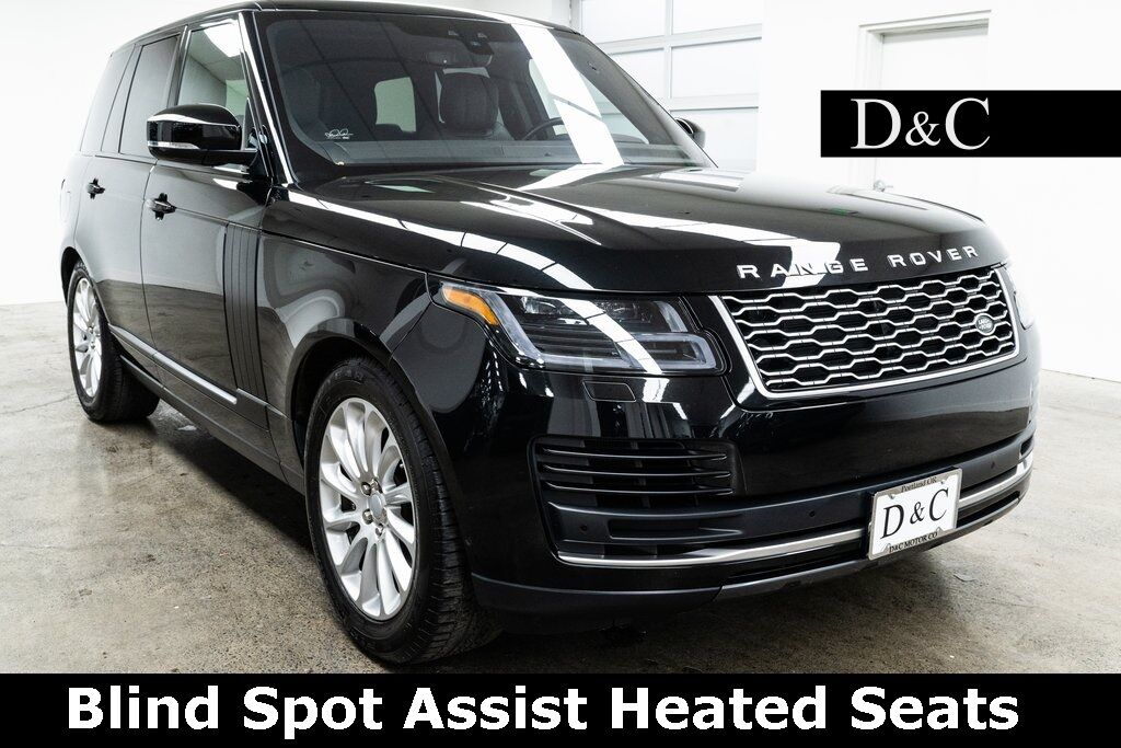 2019 Land Rover Range Rover 3.0L V6 Supercharged HSE Blind Spot Assist Heated Seats Portland OR