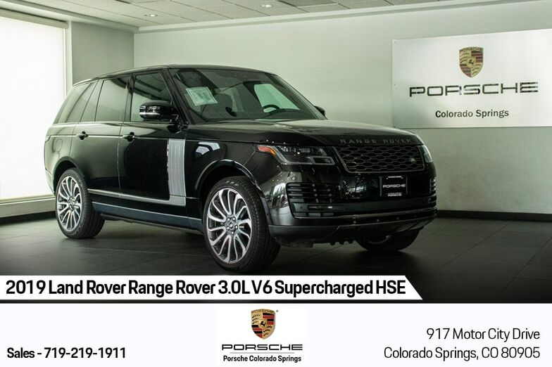 2019 Land Rover Range Rover 3.0L V6 Supercharged HSE Colorado Springs CO