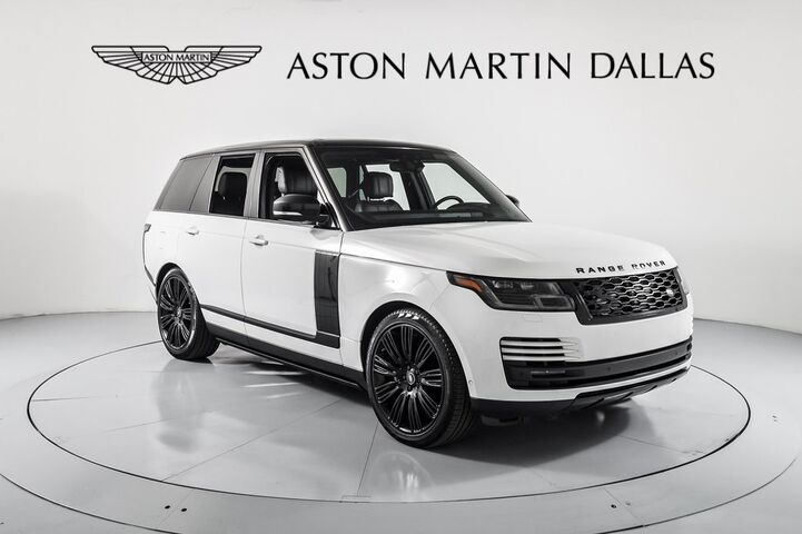 2019 Land Rover Range Rover 5.0L V8 Supercharged Dallas TX