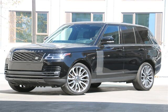 2019 Land Rover Range Rover 5.0L V8 Supercharged San Francisco CA