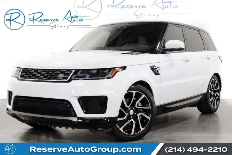 2019 Land Rover Range Rover Sport HSE BlindSpot Assist HeadsUp Meridian Sound The Colony TX