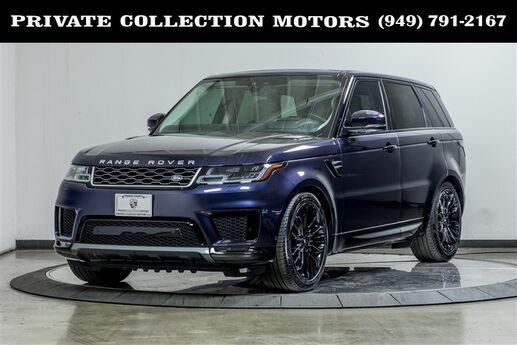 2019 Land Rover Range Rover Sport HSE Highly Optioned 3rd Row Seat Costa Mesa CA