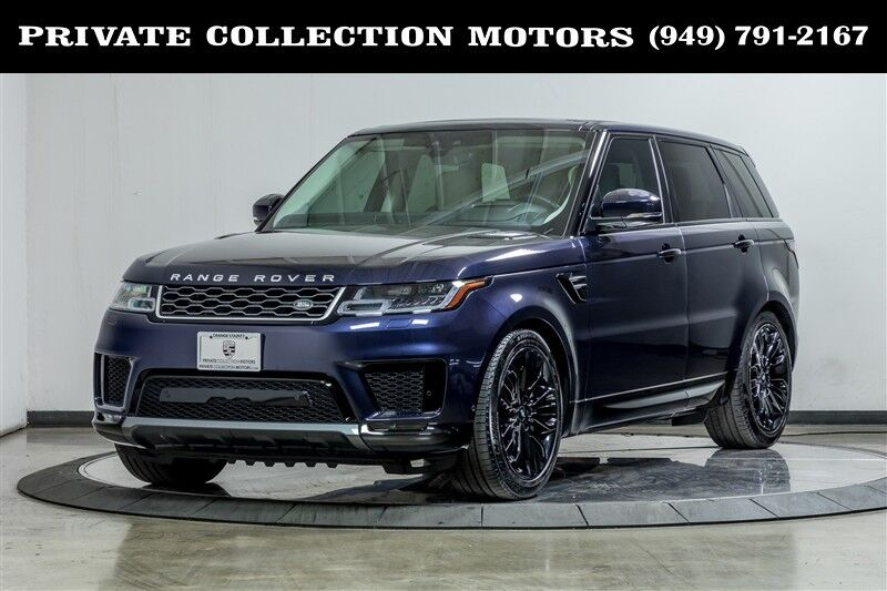 2019_Land Rover_Range Rover Sport_HSE Highly Optioned 3rd Row Seat_ Costa Mesa CA