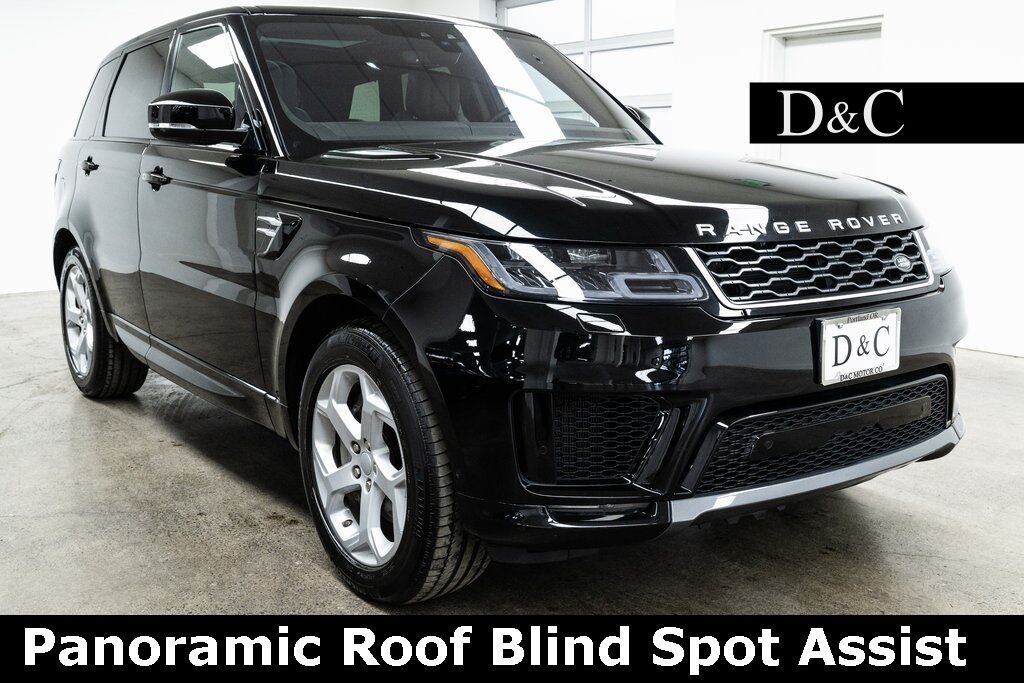 2019 Land Rover Range Rover Sport HSE Panoramic Roof Blind Spot Assist Portland OR