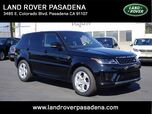2019 Land Rover Range Rover Sport V6 SUPERCHARGED HSE