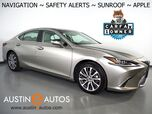 2019 Lexus ES 350 *NAVIGATION, BLIND SPOT & LANE DEPARTURE ALERT, COLLISION ALERT w/BRAKING, ADAPTIVE CRUISE, BACKUP-CAMERA, MOONROOF, CLIMATE SEATS, 18 INCH WHEELS, APPLE CARPLAY