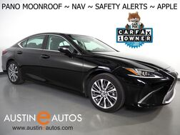 2019_Lexus_ES 350_*PANORAMA MOONROOF, NAVIGATION, BLIND SPOT & LANE DEPARTURE ALERT, COLLISION ALERT w/BRAKING, ADAPTIVE CRUISE, BACKUP-CAMERA, CLIMATE SEATS, APPLE CARPLAY_ Round Rock TX