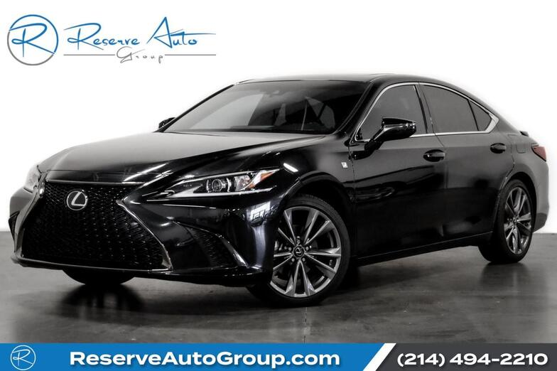 2019 Lexus ES ES 350 F SPORT Navigation Moonroof Heated Seats The Colony TX