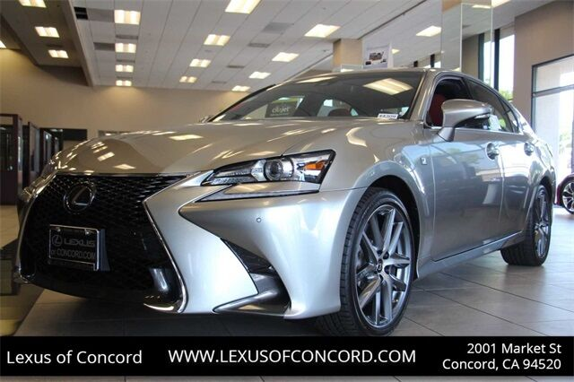 New 2019 Lexus Gs 350 F Sport In Concord Ca