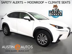 2019_Lexus_NX 300_*BLIND SPOT & LANE DEPARTURE ALERT, COLLISION ALERT w/BRAKING, ADAPTIVE CRUISE, SCOUT GPS, BACKUP-CAMERA, MOONROOF, CLIMATE SEATS, POWER LIFTGATE, BLUETOOTH, APPLE CARPLAY_ Round Rock TX