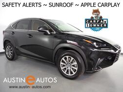 2019_Lexus_NX 300_*BLIND SPOT & LANE DEPARTURE ALERT, COLLISION ALERT w/BRAKING, ADAPTIVE CRUISE, SCOUT GPS, BACKUP-CAMERA, MOONROOF, CLIMATE SEATS, POWER LIFTGATE, BLUETOOTH AUDIO, APPLE CARPLAY_ Round Rock TX