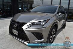 2019_Lexus_NX 300_F Sport / AWD / Heated and Cooled Leather Seats / Heated Steering Wheel / Sunroof / Lane Departure & Blind Spot / Adaptive Cruise / Navigation / Bluetooth / Back Up Camera / 1-Owner_ Anchorage AK