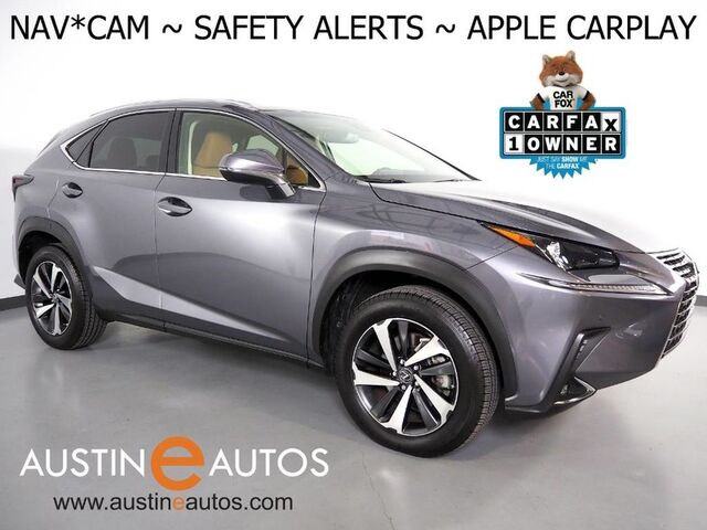 2019 Lexus NX 300 *NAVIGATION, COLLISION ALERT, BLIND SPOT & LANE DEPARTURE ALERT, ADAPTIVE CRUISE, BACKUP-CAMERA, MOONROOF, CLIMATE SEATS, POWER LIFTGATE, BLUETOOTH, APPLE CARPLAY Round Rock TX