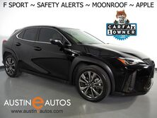 Lexus UX 200 F SPORT *COLLISION ALERT, BLIND SPOT & LANE DEPARTURE ALERT, ADAPTIVE CRUISE, BACKUP-CAMERA, SCOUT GPS, MOONROOF, HEATED SEATS, POWER LIFTGATE, APPLE CARPLAY 2019