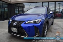 2019_Lexus_UX 250h_F SPORT / AWD / Premium Pkg / Power & Heated Leather Seats / Heated Steering Wheel / Adaptive Cruise Control / Lane Departure & Blind Spot Alert / Sunroof / Bluetooth / Back Up Camera / 41 MPG / Only 8k Miles / 1-Owner_ Anchorage AK