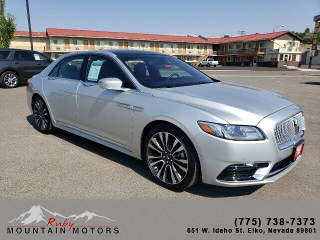 2019_Lincoln_Continental_Reserve_ Elko NV
