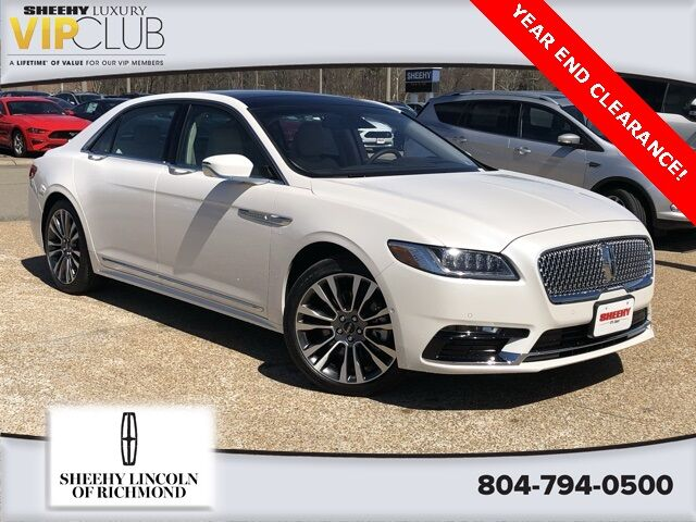 2019 Lincoln Continental Reserve Richmond VA