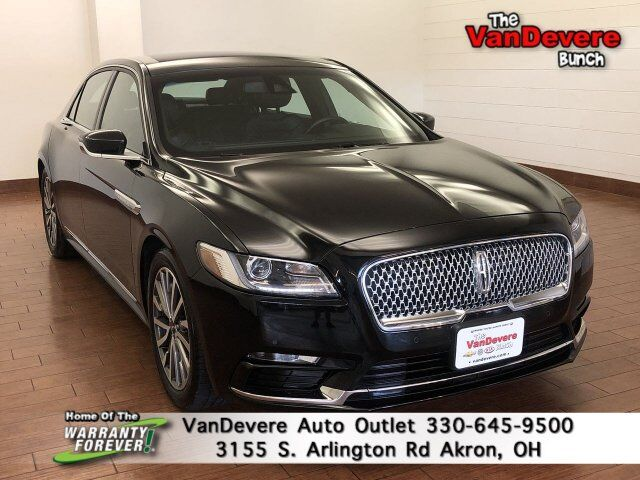 2019 Lincoln Continental Select Akron OH