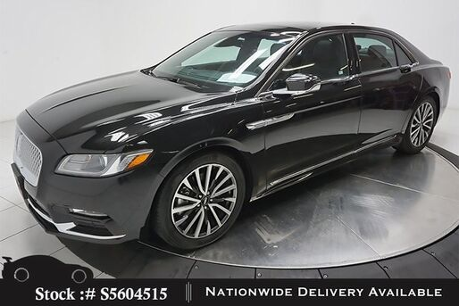 2019_Lincoln_Continental_Select NAV,CAM,PANO,HTD STS,PARK ASST,BLIND SPOT_ Plano TX
