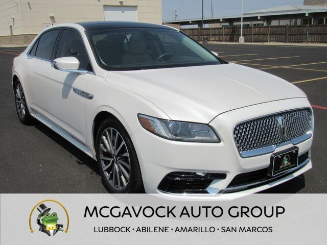2019 Lincoln Continental Select Lubbock TX