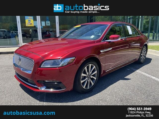 2019 Lincoln Continental Standard Jacksonville FL