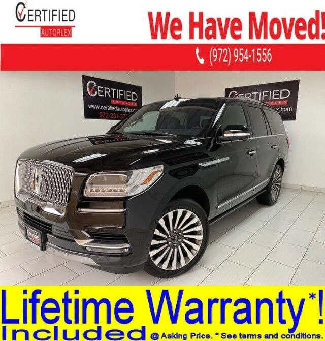 2019 Lincoln Navigator RESERVE 4WD REAR ENTERTAINMENT PANORAMIC ROOF NAVIGATION ACTIVE Dallas TX