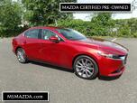 2019 MAZDA MAZDA3 Sedan Premium Pkg - Leather - Moonroof - Carplay - ONLY 4210 MI