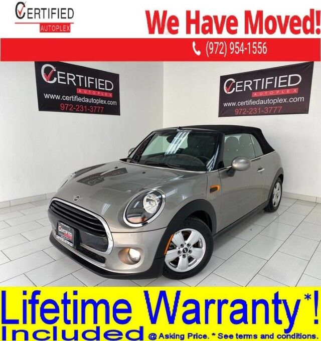 2019 MINI Cooper CONVERTIBLE NAVIGATION REAR CAMERA REAR PARKING AID HEATED LEATHER SEATS Dallas TX