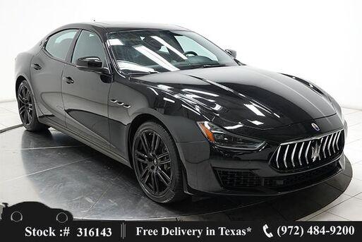 2019_Maserati_Ghibli_S Q4 NAV,CAM,SUNROOF,HTD STS,BLIND SPOT,20IN WHLS_ Plano TX