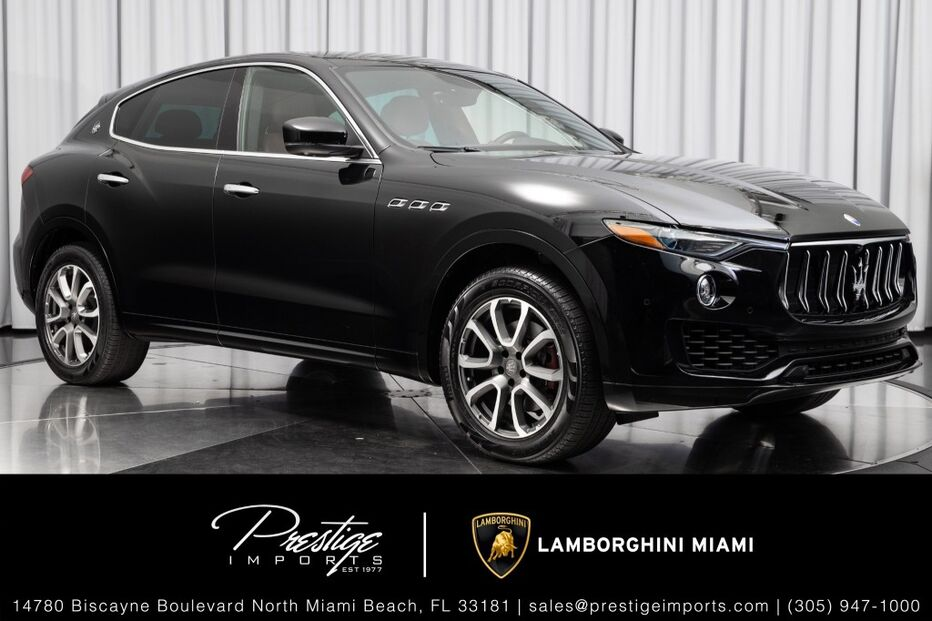 2019_Maserati_Levante__ North Miami Beach FL